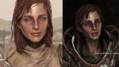 Cait face and body tweaks
