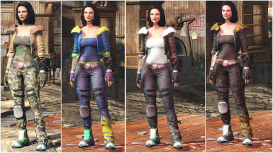 Wasteland Girl Armor Reloaded - CBBE Bodyslide - Vanilla