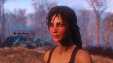 Young Lara Croft (TR2013) Face and Body Preset (ModManager)