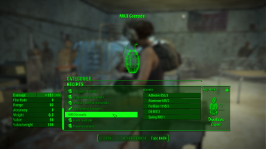 Mk  II Frag Grenade - Standalone or Replacer at Fallout 4