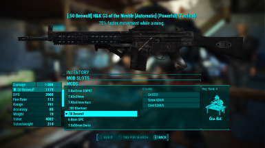 Weaponsmith Extended at Fallout 4 Nexus - Mods and community