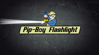 Pip-Boy Flashlight (Pipboy - Power Armor - Lamp Overhaul)