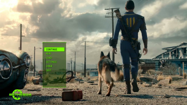 Fallout 4 Live Action Trailer as Main Menu