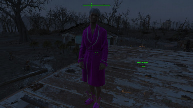 Mama Murphy in the correct outfit