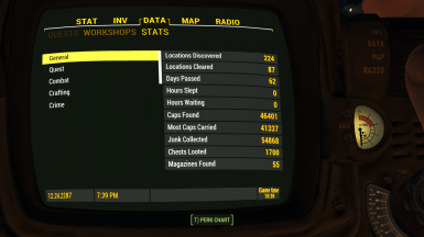 Pipboy3 Data3 Stats Screen 1 1
