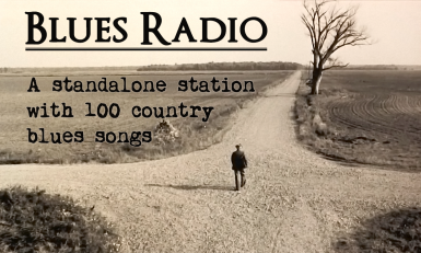 Blues Radio - Standalone Station with 100 Tracks