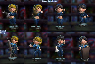 Bobble Girl - with Slooty Vault Suit - Italian Translation