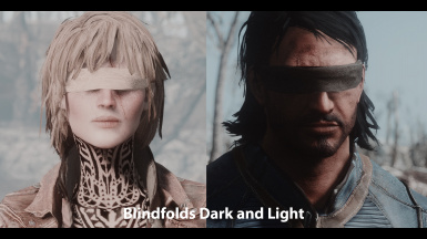 Blindfolds Dark and Light