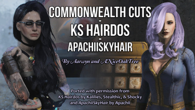 Commonwealth Cuts - KS Hairdos - ApachiiSkyHair at Fallout 4
