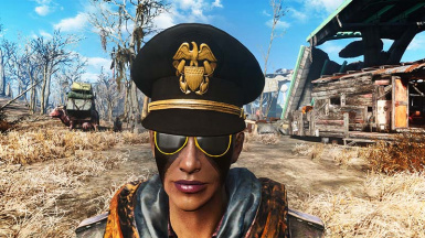 Black Sea Captain s Hat (With Variants) at Fallout 4 Nexus - Mods ... b3d5feef17