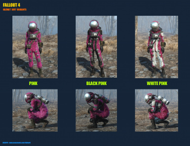 Hazmat Suit Variants   Pink