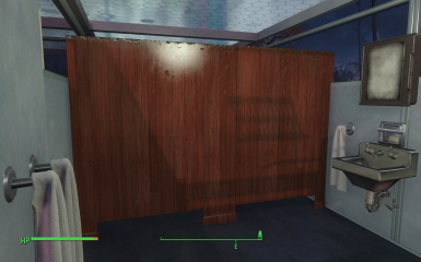 Bathroom Stall Retexture At Fallout 4
