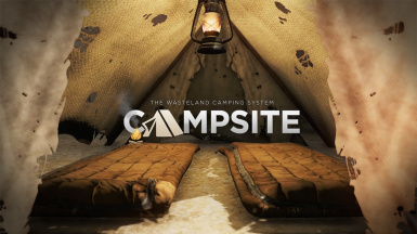 Campsite - Simple Wasteland Camping (and HD Sleeping Bags)