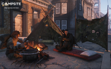 in game urban camping