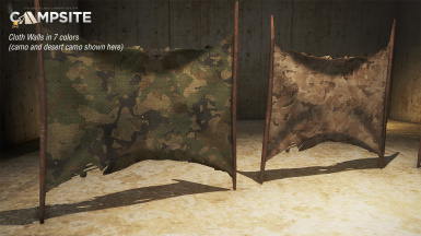 cloth walls camo