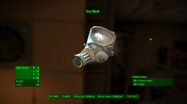 Upgraded Gas Mask