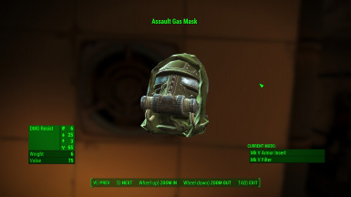 Upgraded Assault Gas Mask