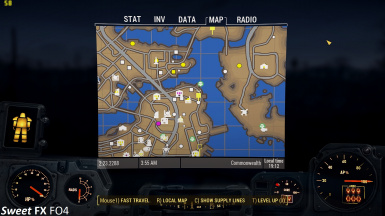 Fallout4 Map ON