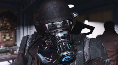 Color swap mods also available on vanilla Gas Mask