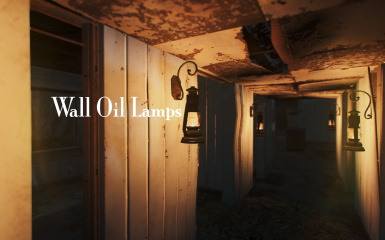 Wall Oil Lamps