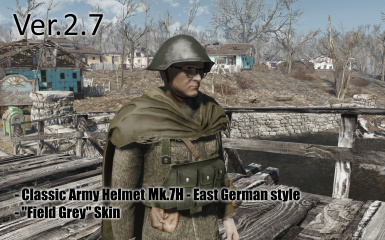 Classic Army Helmet and Field Caps at Fallout 4 Nexus - Mods