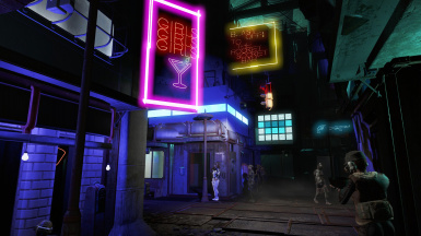 Mechanists lair and hangmans alley settlements at Fallout 4