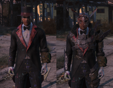 fallout 4 how to put armor over any clothing