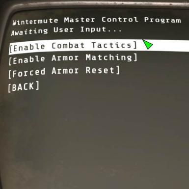 0 92CT Advanced Combat Menu OFF