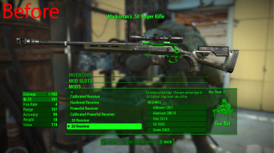 Better Hunting Rifle .50 Attachment