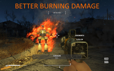 Better Burning Damage
