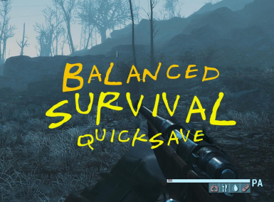 Balanced Survival Quicksave