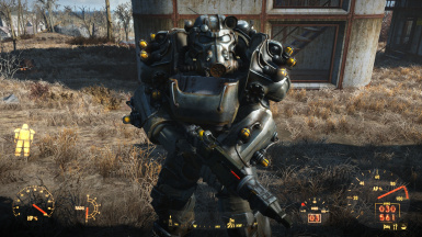 Tesla T-60 Power Armor NoFX