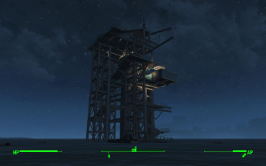 Oil Rig Player Home