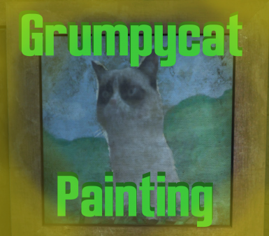Grumpycat Painting - Texture Replacer