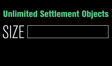 Unlimited Settlement Objects