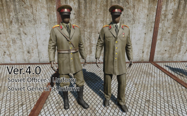 67ed7e9b809 Communist Army s outfit at Fallout 4 Nexus - Mods and community