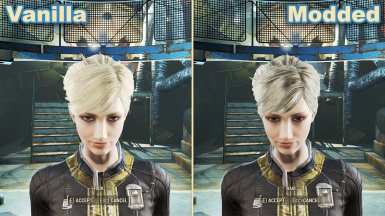 Wasteland Salon - Hair Texture Improvement Mod