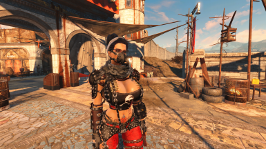 Toxic Raider Armour for Atomic Beauty at Fallout 4 Nexus ...