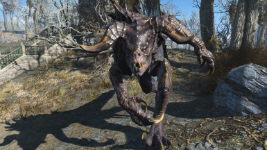 Charging Deathclaw