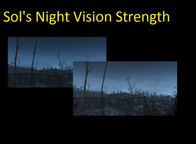 Sol's Night Vision Strength