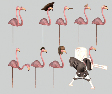 Flamingo Choices