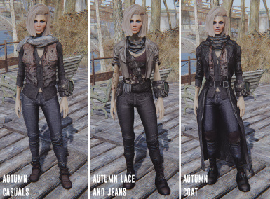 Femshepping's Autumn Fashion - Female Vanilla and CBBE