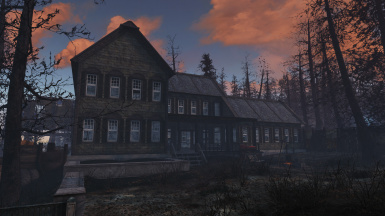 National Park Visitor's Center Player Home Not Furnished. Far Harbor.