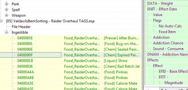 TAGS - for ValdacilsItemSorting - Raider Overhaul (WIP)