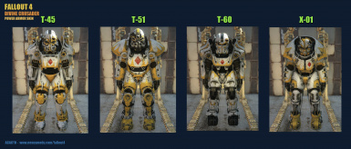 Power Armor Skin   Divine Crusader 1
