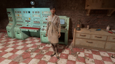 Female Lab Coat Texture fix