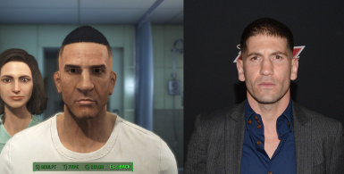 Punisher Frank Castle Character Face Save File