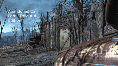Abandoned Car Fort