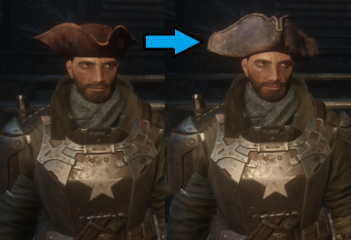 The Captain's Hat Model Fix
