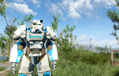 Aperture Science T60 Power Armor Paint